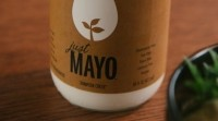 Just Mayo is made from canola oil, yellow pea protein and other ingredients... but no egg