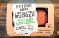 Two 4oz Beyond Burger patties cost $5.99 at Whole Foods