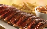 Chili's Rack of Baby Back Ribs with Shiner Bock BBQ Sauce complete with fries and Cinnamon Apples packs 2,330 calories