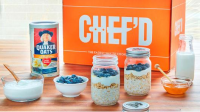 Chef'd & Quaker Oats explore breakfast potential of meal kits