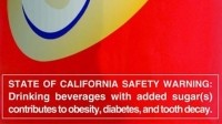 Soda should come with a warning label, say lawmakers in CA, NY