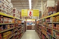 Inside a No Frills store in Richmond Hill, Ontario. Photo: Raysonho/Wikimedia Commons