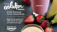 Starbucks tests new 'Evolution Fresh Cold-Pressed Juice Smoothie inspired by Dannon' in San Jose & St Louis