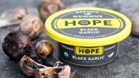 Black garlic hummus, the latest innovation from Hope Foods