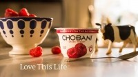 Chobani unveils 'Love your Life' Greek yogurt ad campaign