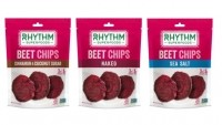Rhythm Superfoods' new line of beet chips is launching at the Winter Fancy Food Show