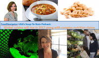 Soup-To-Nuts Podcast: Global cuisine, complex nutrition claims in 2017