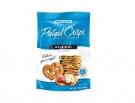 The proliferation of pretzel crisps is one indicator of the mini-renaissance going on in the chip category. Photo courtesy of Snack Factory