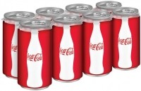 Coca-Cola cashes in on health-conscious consumers buying mini-cans