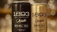 PepsiCo's 1893 craft soda is from kola nut extract, sparkling water, and Fairtrade sugar. Picture: PepsiCo