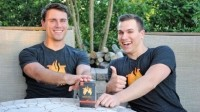 Kettle & Fire (Bone Broth Co) co-founders Justin and Nick Mares (left to right)
