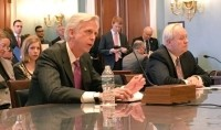 NMPF CEO Jim Mulhern (left) and IDFA CEO Dr Michael Dykes (right) testified at a House Agriculture Committee hearing on the farm bill this week. Picture: NMPF