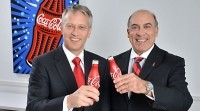 Muhtar Kent (right) and James Quincey (left), Coca-Cola