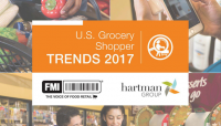 2017 US Grocery Shopper Trends report FMI, Hartman Group