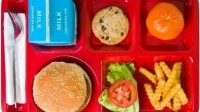 "Dr. Marion Nestle: ""[School meals] comprise a large part of the calories of many school-age children, and schools set an example for what's normal and appropriate for kids to be eating."" Photo source: NourishLife.org"