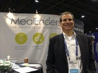 MealEnders founder & CEO Mark Bernstein at the Food & Nutrition Conference & Expo (FNCE) in Atlanta, GA