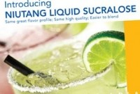 Niutang to begin production at new 1,200t sucralose facility