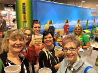 Natural Products Expo West attendees enjoying Reed's Ginger Brew in Moscow mules. Source: Reed's Inc. Instagram