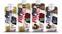 The 17 oz FitPro Plus with 40g protein targets hardcore users, while the 11oz Daily variant with 26g protein targets regular gym goers or anyone looking for more protein. Because it is packaged in an aseptic environment, FitPro is shelf-stable for 16 months.