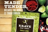 An example of Krave's print ad, part of the new national campaign aimed at highlighting Krave's culinary roots.