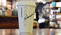 Starting September 6, almondmilk will be available in 4,600+ Starbucks stores as a non-dairy alternative, in addition to soymilk and coconutmilk