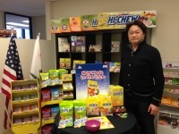 Terry Kawabe, Morinaga America's COO and senior VP